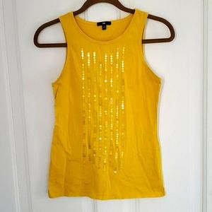Gap Sequined Lines Tank